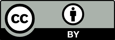 Creative Commons logo button