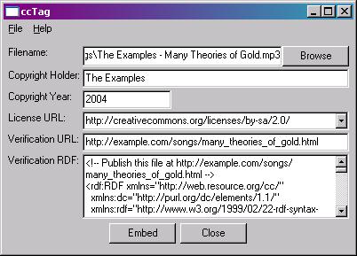 ccTag screenshot