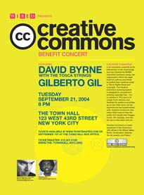 Wired presents: the Creative Commons benefit