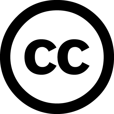 """How to attribute Creative Commons licensed materials"" icon"